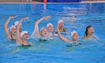Fraser River synchronized swimming team had just four weeks to prepare