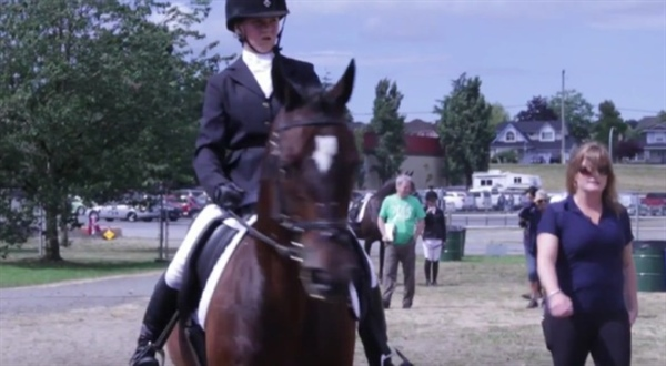 Equestrian dressage at Summer Games