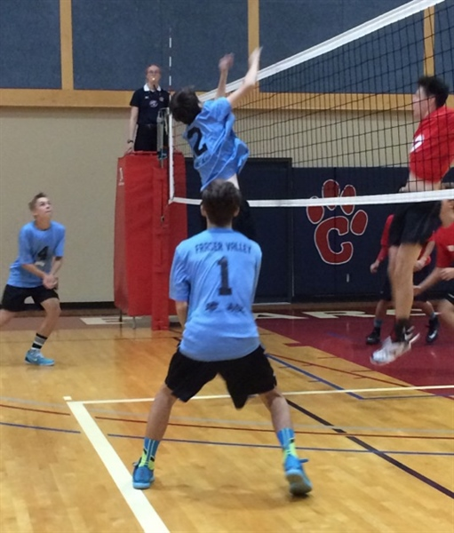 BOYS VOLLEYBALL: Fraser Valley team dominates first three