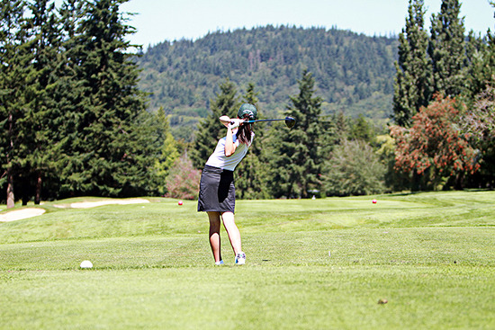 GOLF: Victoria golfers lead heading into second day
