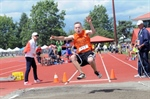 BOYS' LONG JUMP: White Rock's Denman wins gold