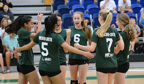 Vancouver-Coastal and Vancouver Island advance in girls volleyball playoffs