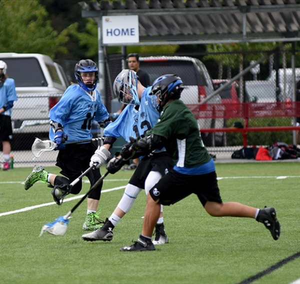 PHOTO: Field lacrosse action on Friday