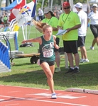 GIRLS 2000 METRES: Maslechko comes from behind to win girls 2000 metres