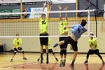 BOYS VOLLEYBALL: Action underway at Columbia Bible College