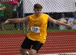 BOYS' DISCUS: Delta thrower edges Vancouver rival to take gold