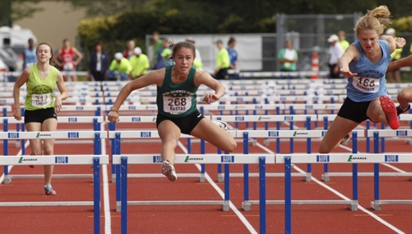 GIRLS' PENTATHLON: Gold goes homes with Langley teen