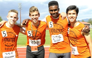 4 X 100 METRES BOYS: Fraser River takes top spot