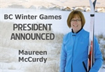 Vice President Named to 2018 BC Winter Games