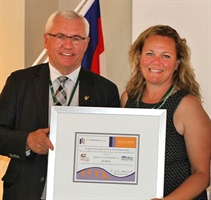 Local Coach Honoured for Leadership