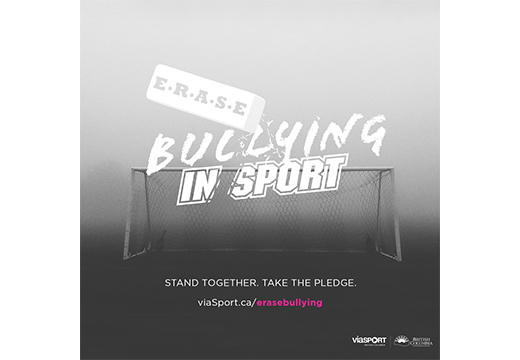 B.C. Sport Organizations Stand Together to Erase Bullying in Sport