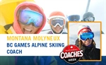 Coach Profile: Montana Molyneux - Alpine Skiing | Celebrating National Coaches Week