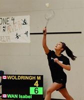 Badminton: Zone 6 girls performing well