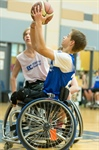 Wheelchair Basketball: Zone 4 defeated Zone 8
