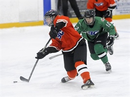 Female Hockey: Vernon girls lead Thompson-Okanagan to 3-2 win over Vancouver-Squamish