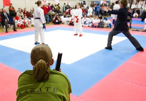 Karate: Intermediate kata competitors move on to the next round