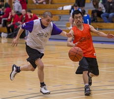 Special Olympics Basketball: Andrew Wainwright, Vancouver Island beat North West, 50-23
