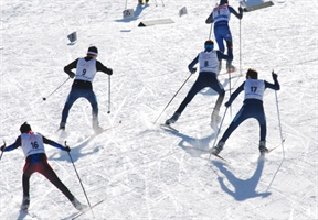 Cross-country skiing: Drolet a double-gold winner