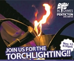 Torchlighting Ceremony lights up the night in Penticton!