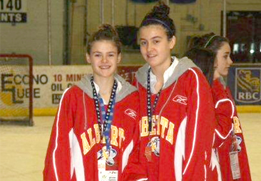Sisters giving back to sport through Penticton 2016 BC Winter Games