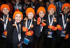 Opening Ceremony welcomes participants to BC Winter Games