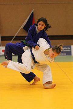 Judo field narrows as competition heats up