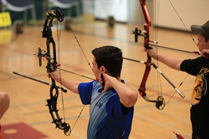 Archery finals come down to a shootout