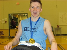 Wheelchair-Basketball Zone 3 Fraser Valley Wins Gold