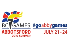 Abbotsford 2016 BC Summer Games new hashtag #GoAbbyGames