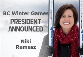 President named for Kamloops 2018 BC Winter Games