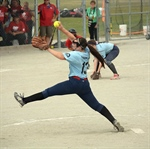 RESULTS: Plenty of action on the softball diamond during opening day of the Games