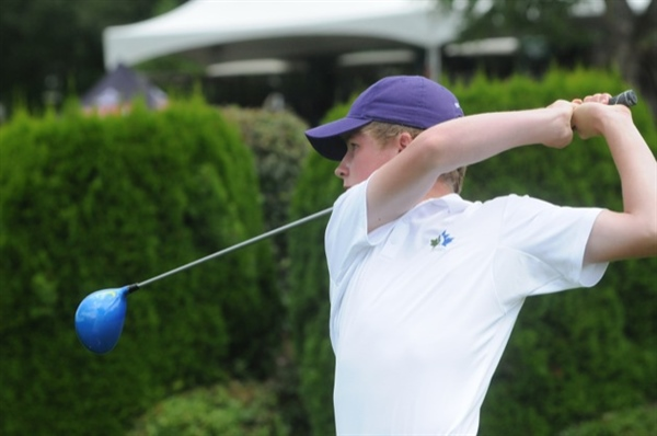 Mission golfer Claggett leads after first day of Games