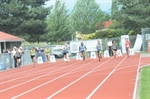 Fraser Valley girls sweep the podium in 100m race
