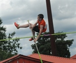 New West's Jones soars to gold in pole vault
