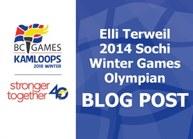 Elli Terwiel, 2014 Sochi Winter Games Olympian, Takes on the Role of BC Winter Games Athlete Ambassador