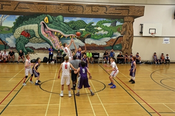 All-Indigenous Basketball Team Takes to the Courts