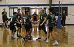 Vollyball Team Rallies