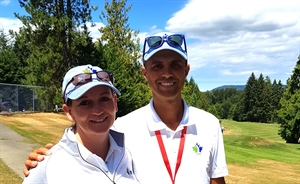 Golf Coach Marks Her Fourth BC Summer Games