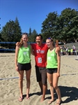 Zone 6 Takes Gold in Women's Beach Volleyball