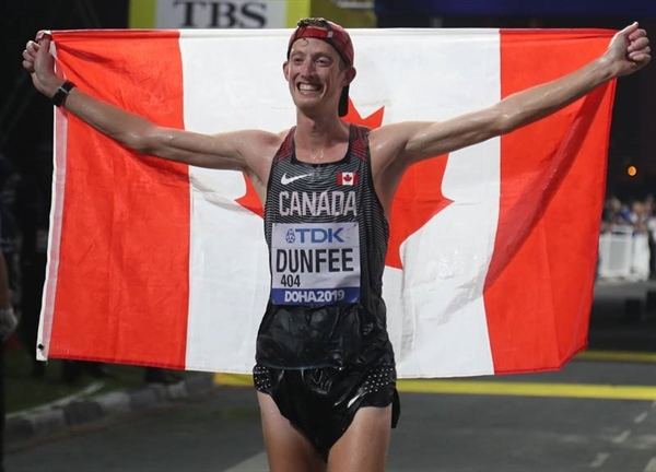 BC Games Alumnus Wins Bronze at the 2019 IAAF World Athletics Championships