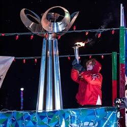 Torchlighting marks 75 days until the 2020 BC Winter Games