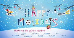 Happy Holidays from the BC Games Staff