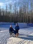 Para Nordic Skier competes in first race at Winter Games