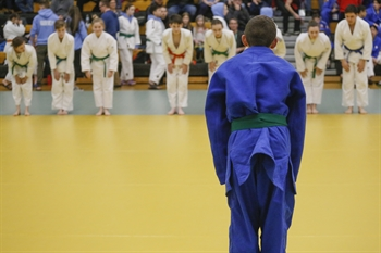 Judo Competitors Face Off at 2020 BC Winter Games