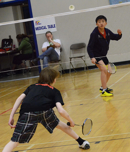 Badminton: Exciting afternoon court showdowns at BC Winter Games