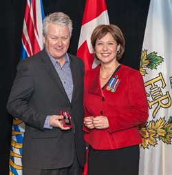 Queen's Diamond Jubilee Medal Awarded to Kelly Mann