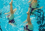 Victoria Synchronized Swimming Duo Capture Gold in the pool