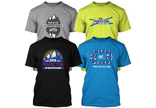 Exciting merchandise line for Penticton 2016 BC Winter Games unveiled