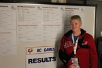 Former national badminton champion volunteers at BC Games