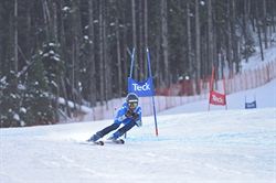 Medallists emerge from tight alpine skiing field